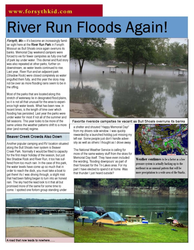 River Run Update May 23 09b