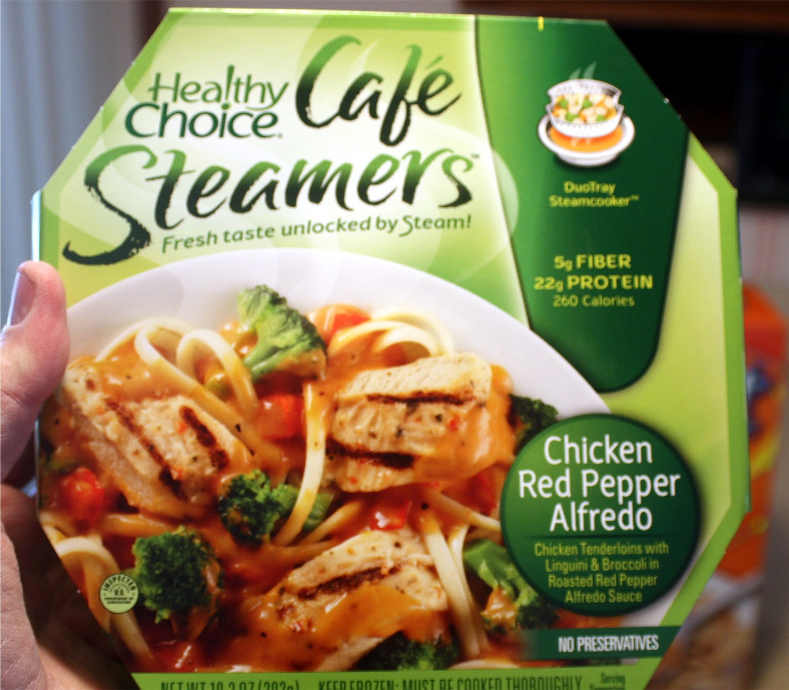 Critique Healthy Choice Chicken Red Pepper Alfredo Forsythkids with regard to The Incredible healthy choice meals intended for your inspiration