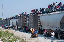 Central American Migrant Movement on Mexico's Southerm Border