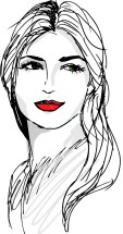 sketch-of-beautiful-woman-face-vector-illustration_mj8fvf___m